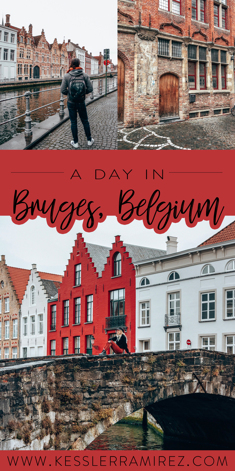 A Day in Bruges, Belgium