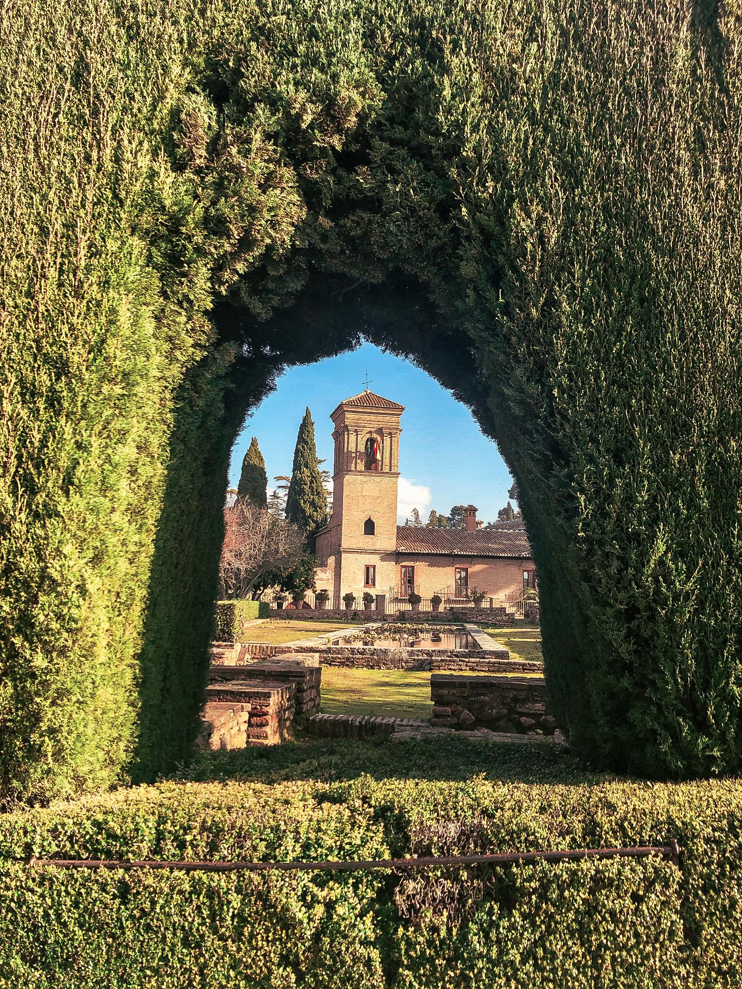 The Alhambra Granada Andaluisa Spain