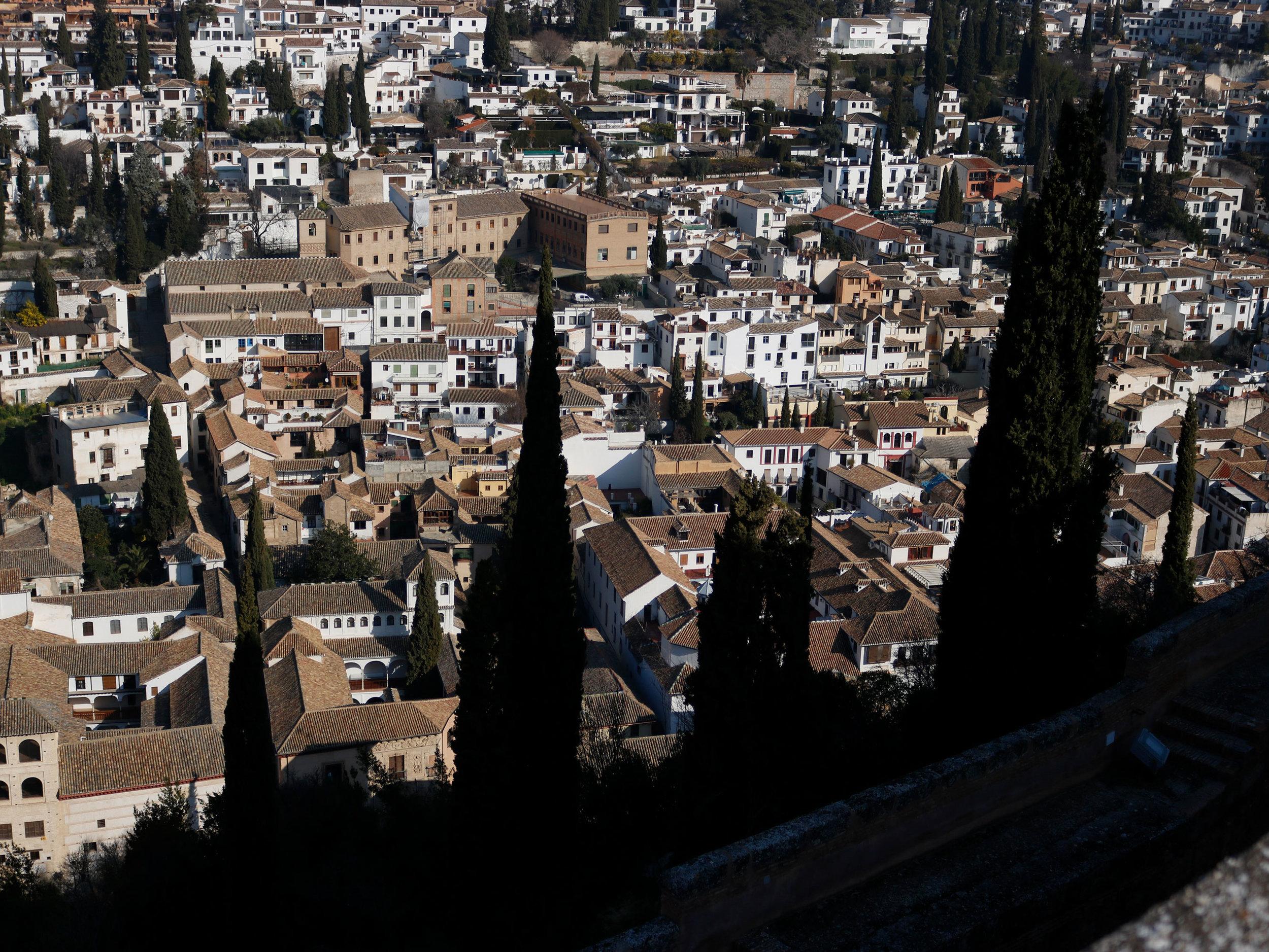 Alhambra Granada Andaluisa Spain