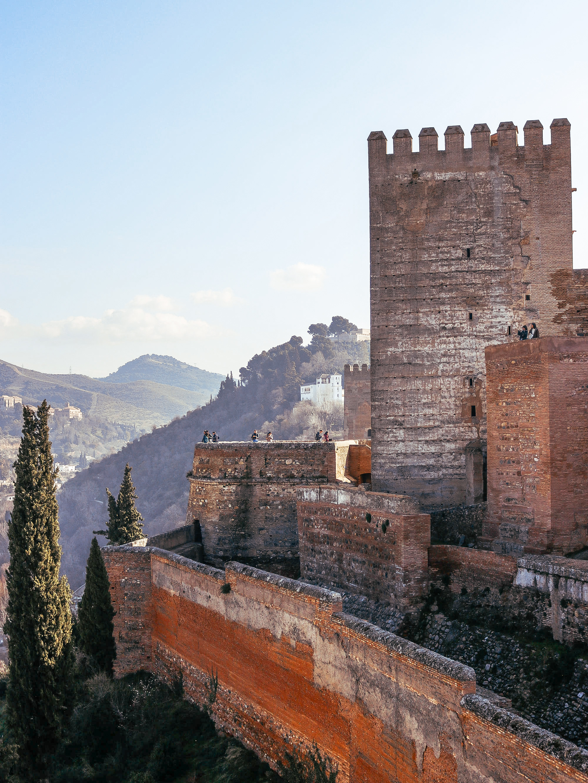 Alhambra Granada Andaluisa Spain – Alcazaba
