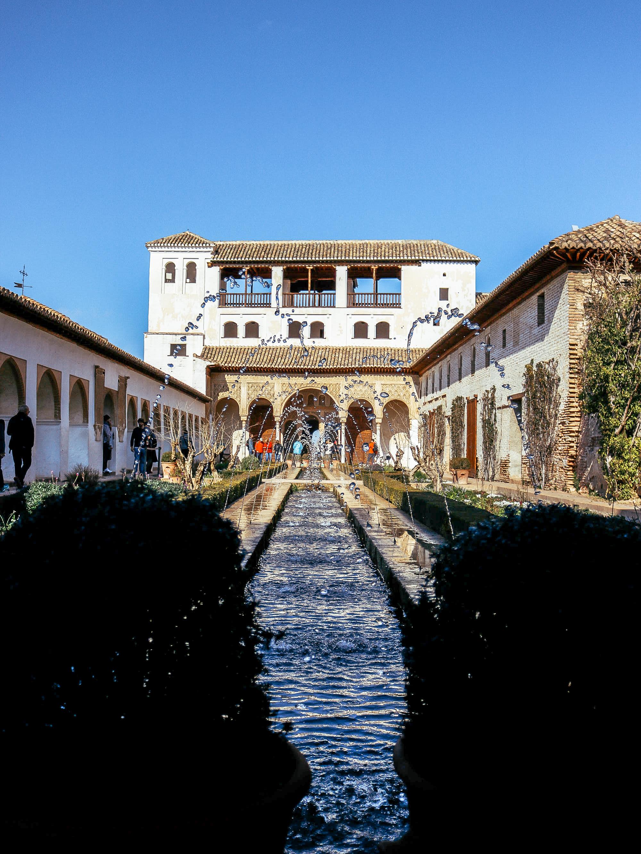 Alhambra Granada Andaluisa Spain – Generalife