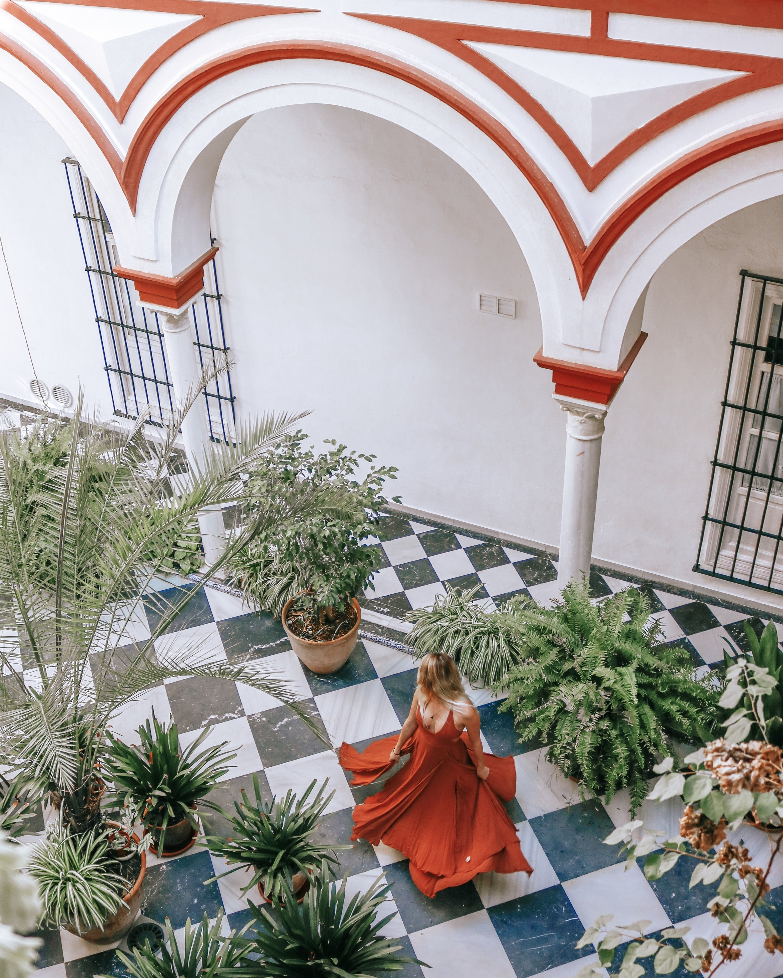 airbnb in seville, spain