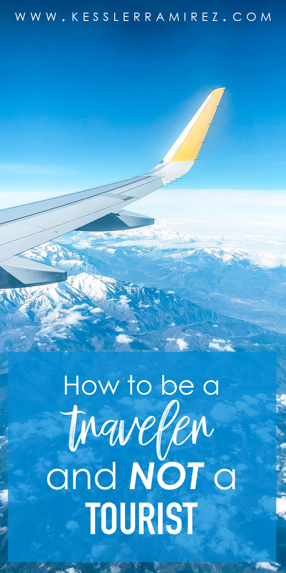 How to be a Traveler and NOT a Tourist
