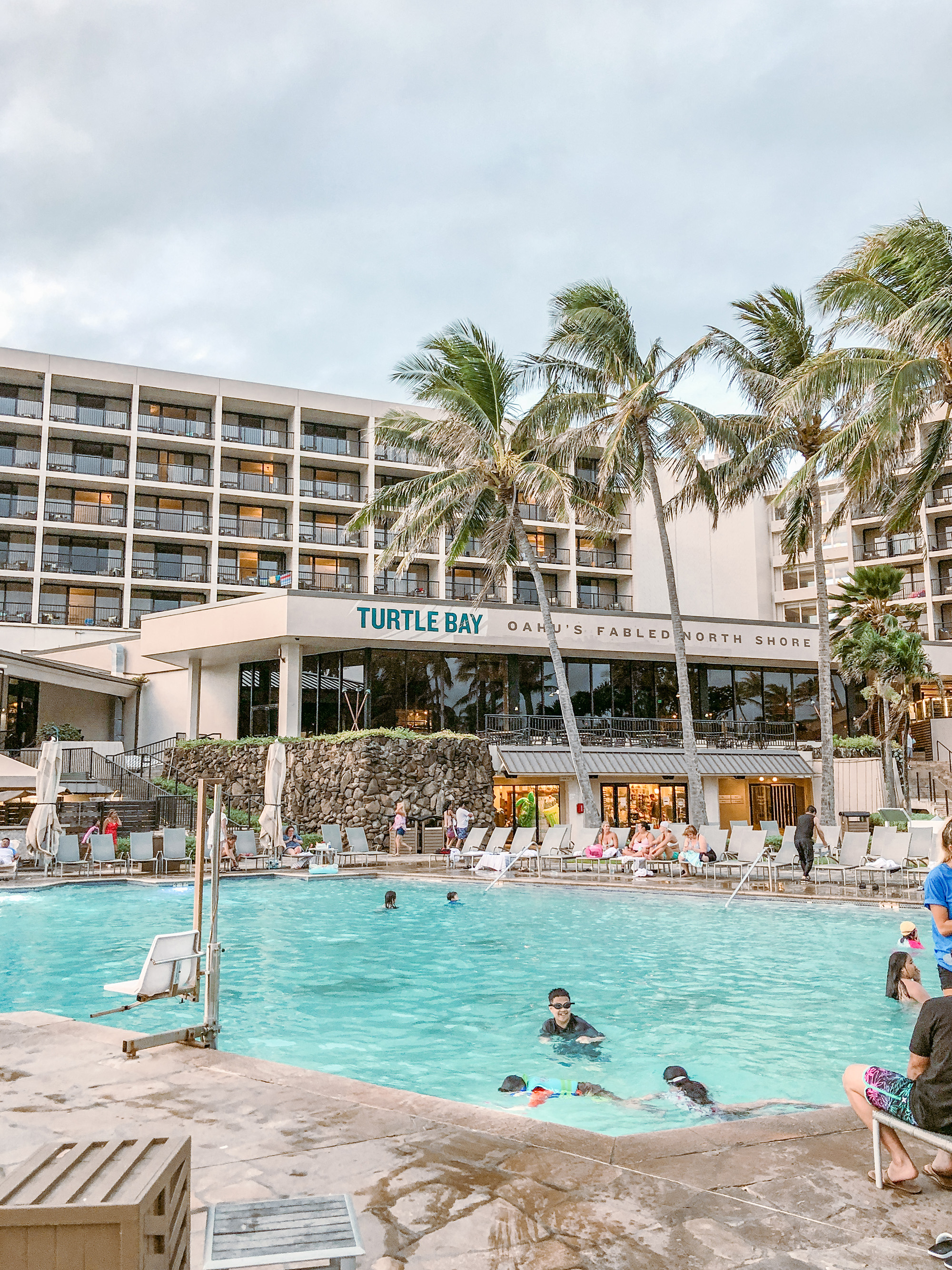 Turtle Bay Resort in North Shore Oahu Hawaii