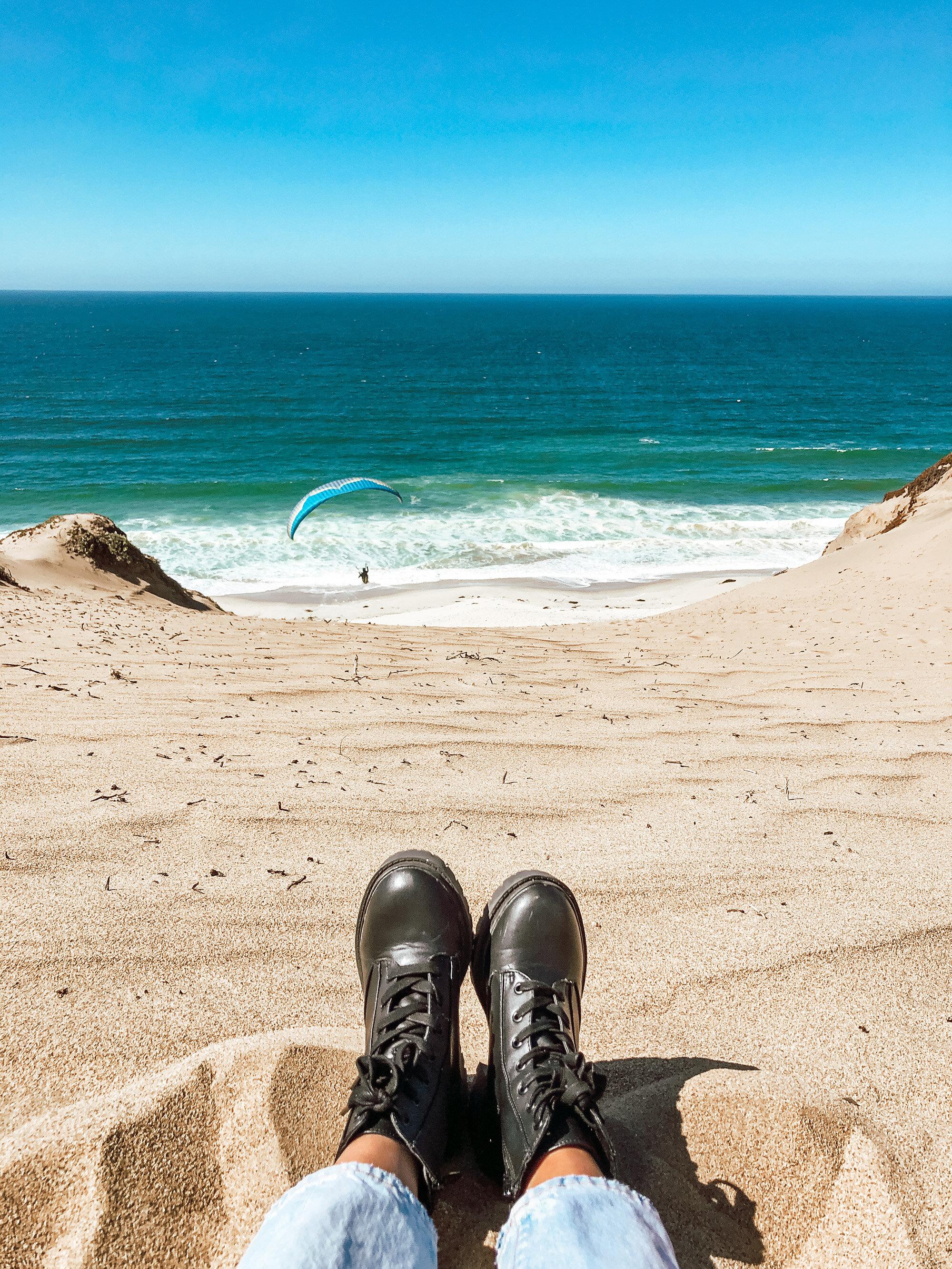Paragliding Monterey Sand Dunes