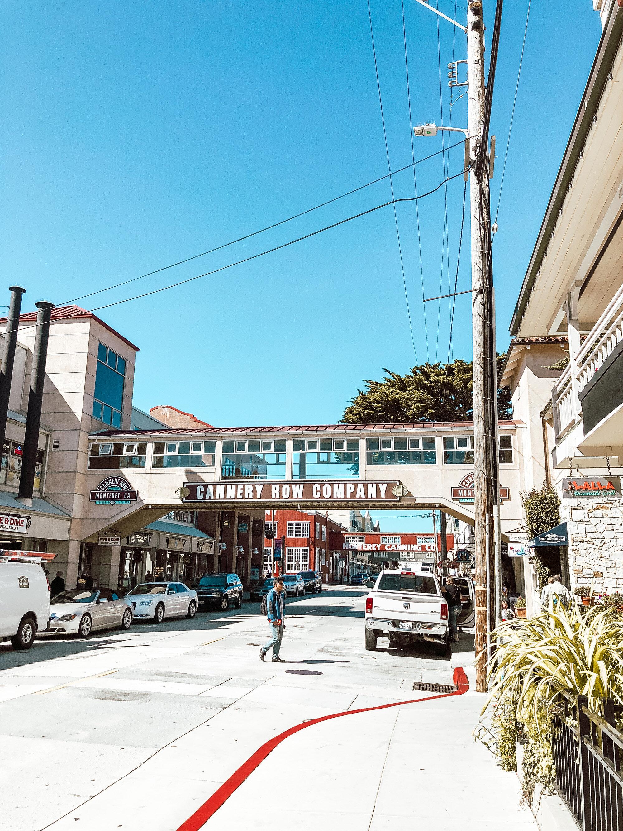 Monterey Cannery Row California