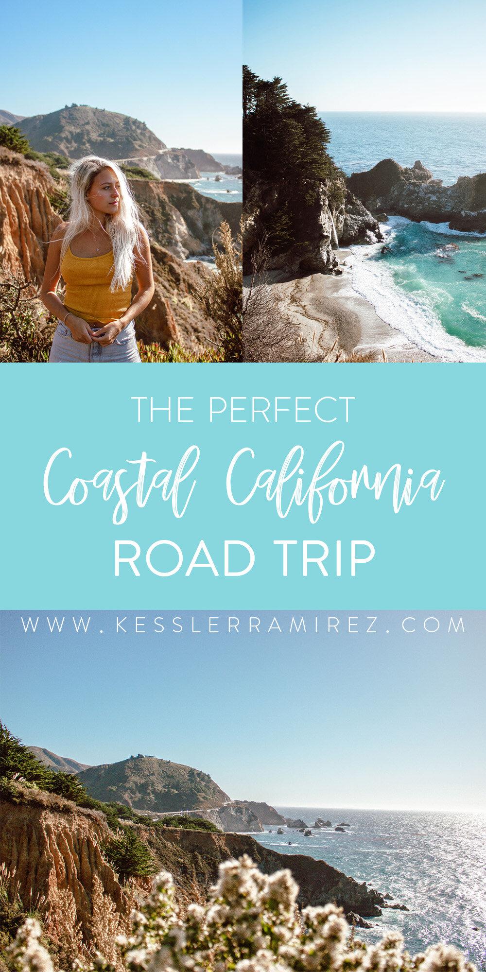 The Perfect Coastal California Road Trip