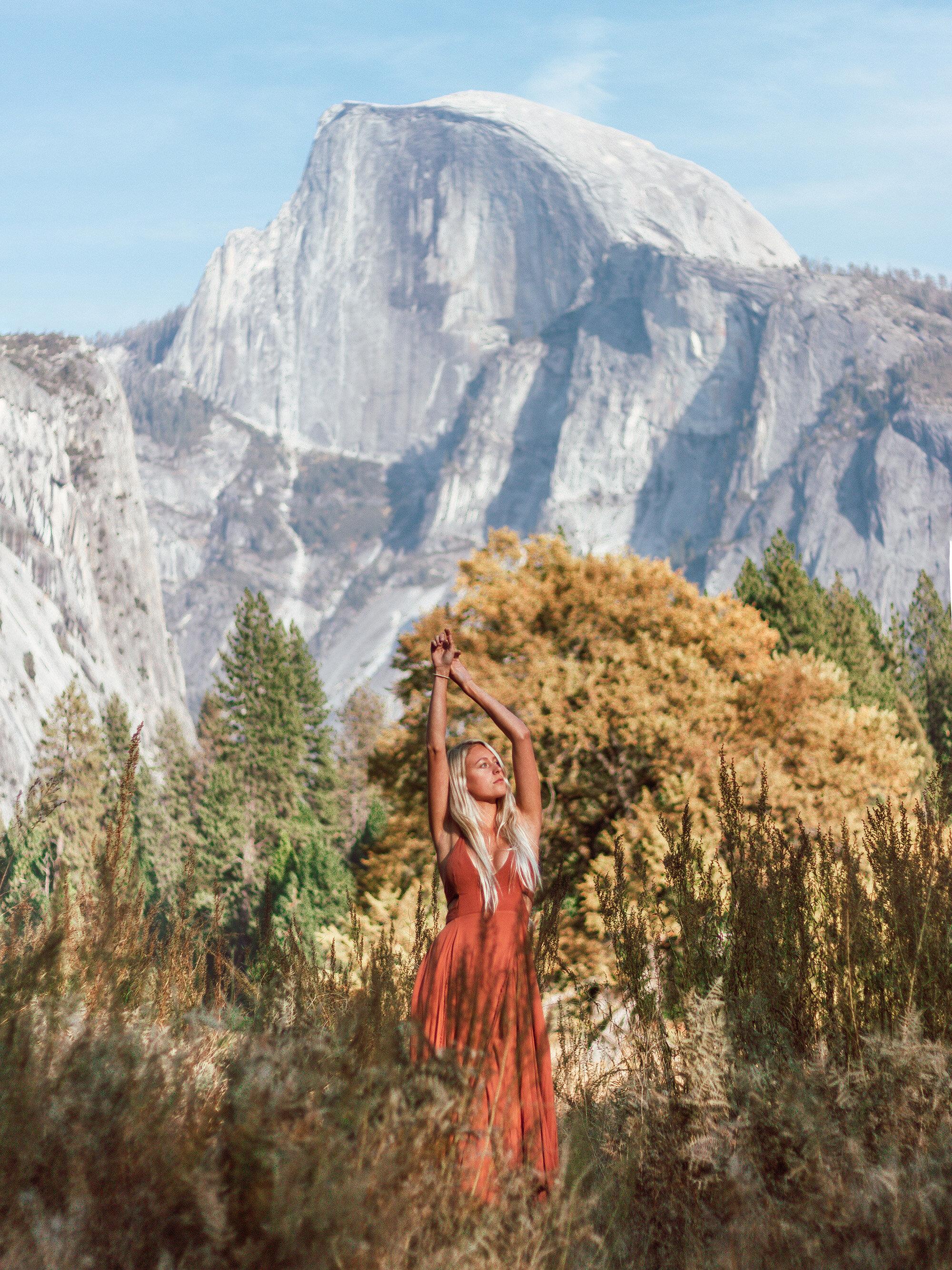 Yosemite Valley Half Dome Photoshoot