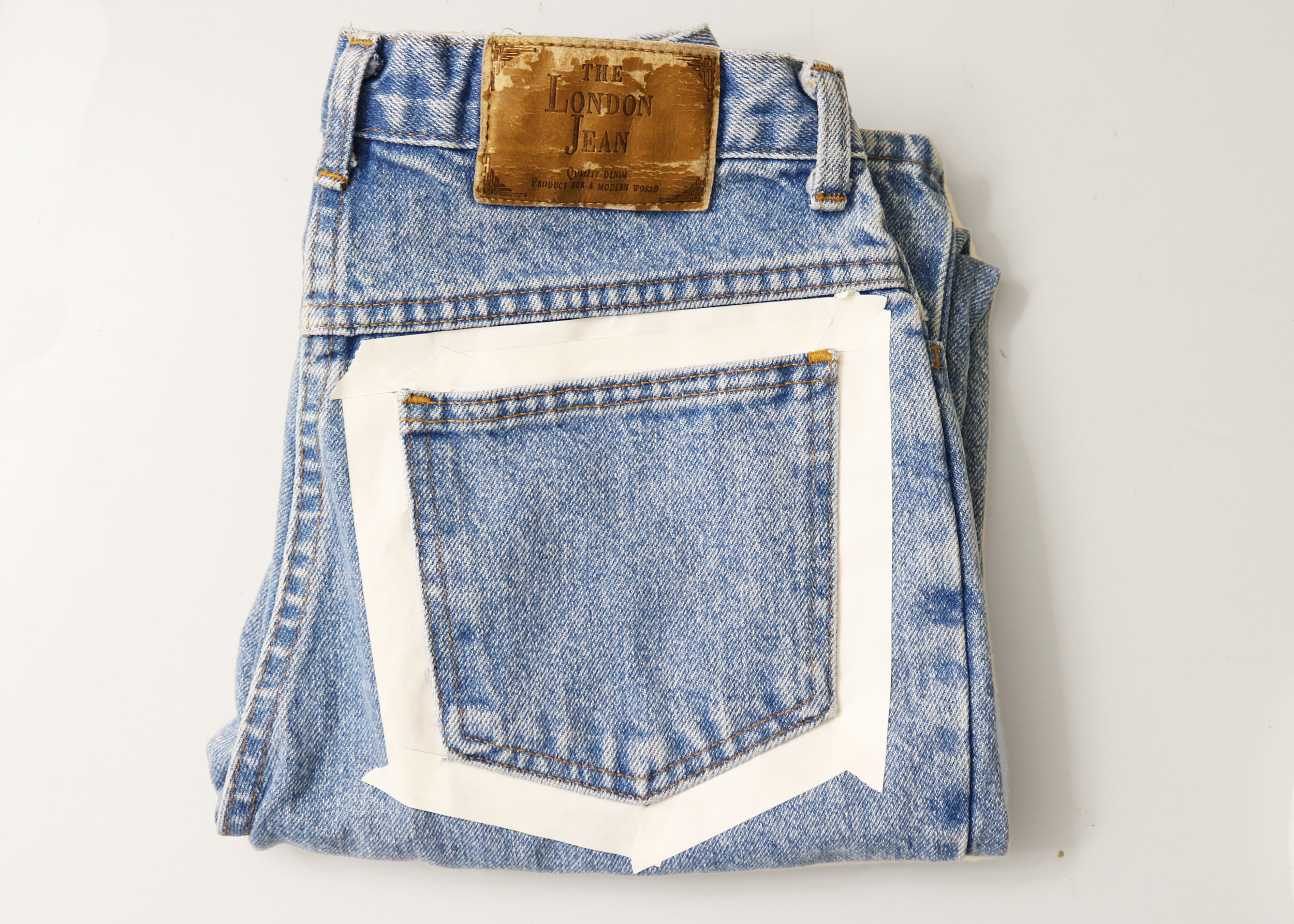 How To Paint On Jeans 5 Steps With Pictures Kessler Ramirez Art Travel