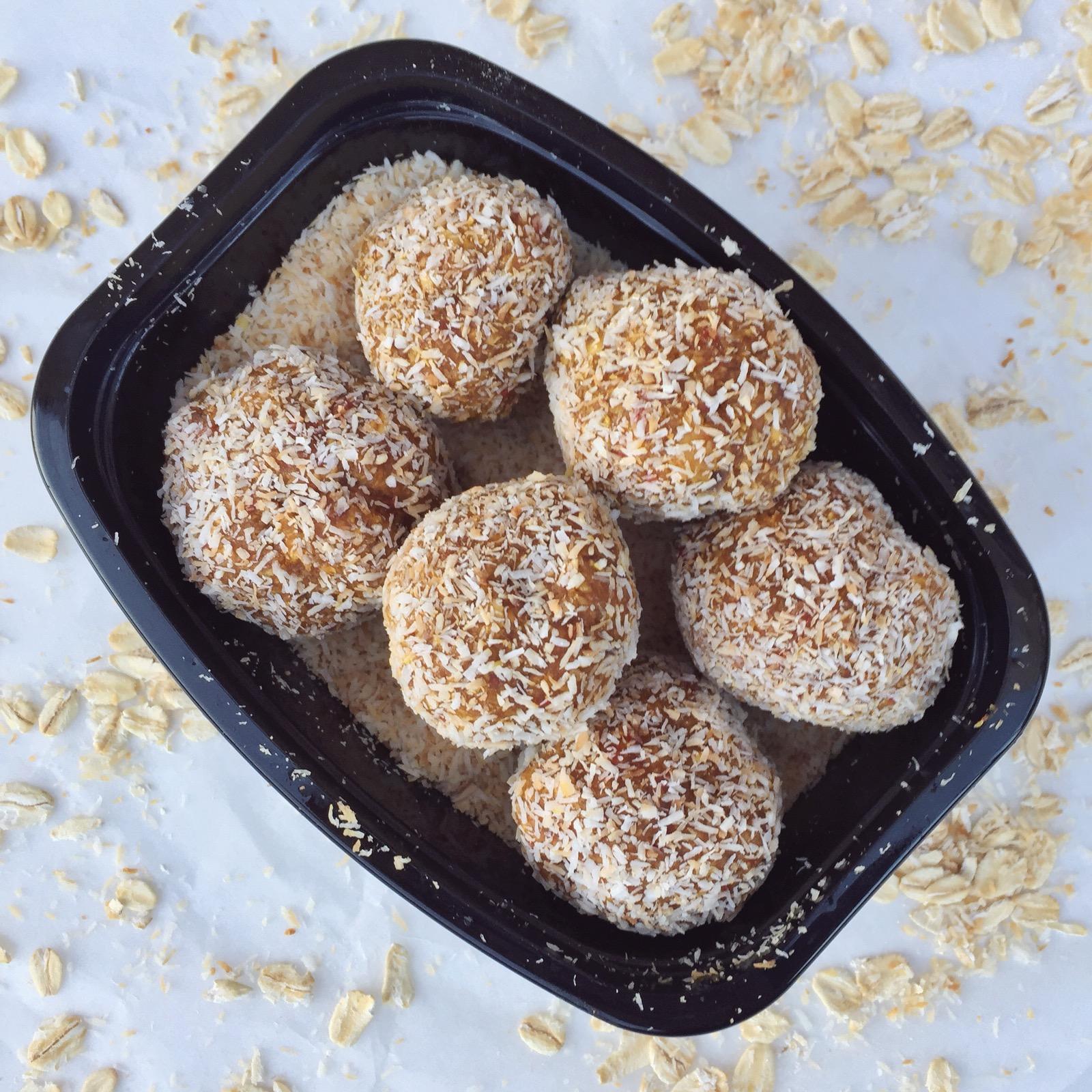 Coconut Ginger Balls -