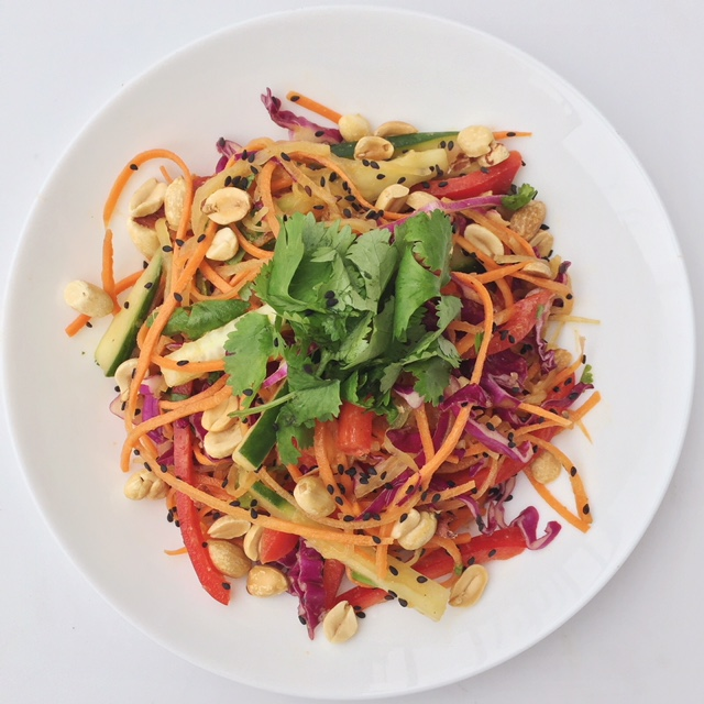crunchy, salty, colorful goodness