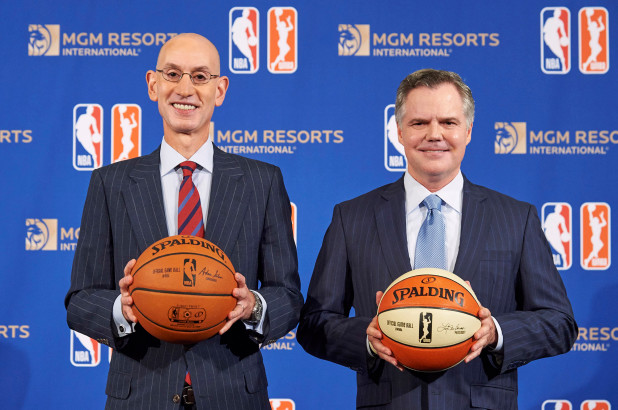 NBA & MGM Resorts from  New York Post
