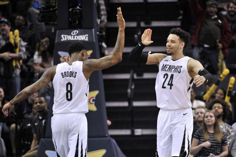 MarShon Brooks (8) and Dillon Brooks (24) were the centre of a botched NBA trade. (Source:  Yahoo Sports )