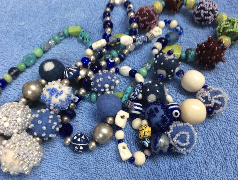 Necklaces, Janice Speck
