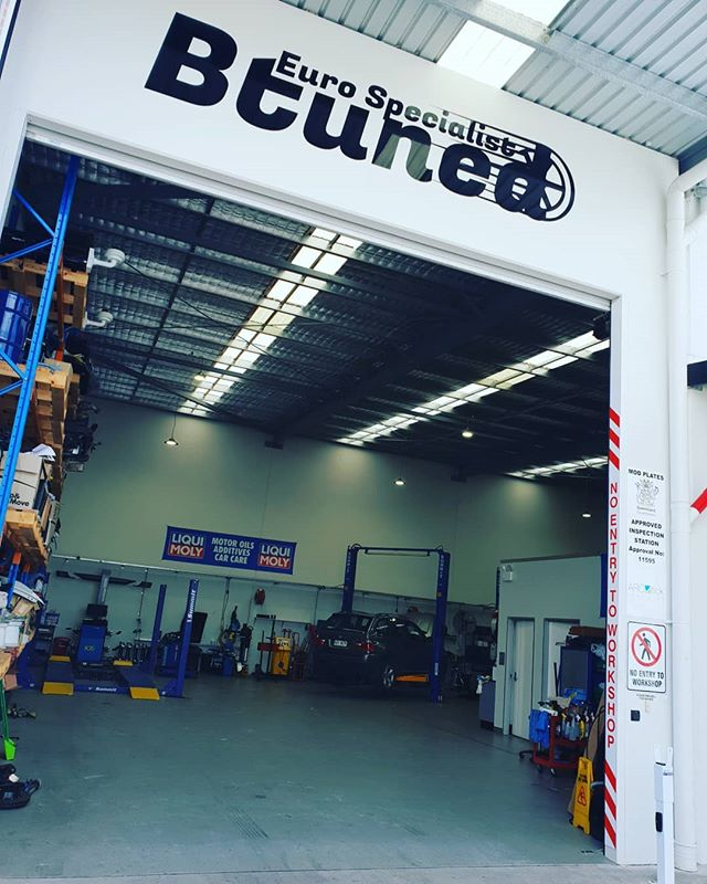 New week, new signage, it's all go here at Btuned! Now approved for Mod Plates, Safety Inspections and Air Con 👌 #morethanjustacar #smashinggoals #getstuffdone