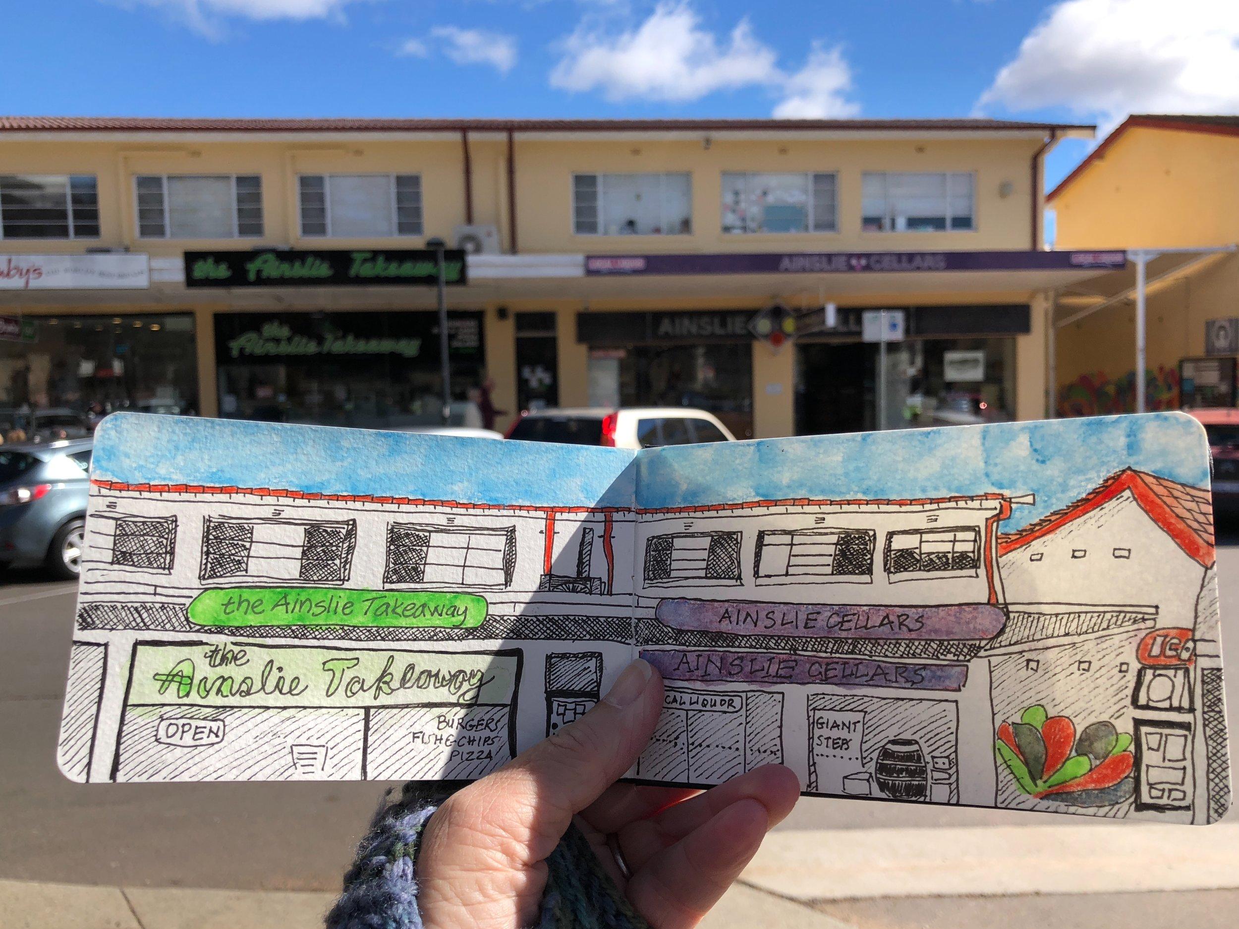 IGA Supermarket, Ainslie Shops, Canberra