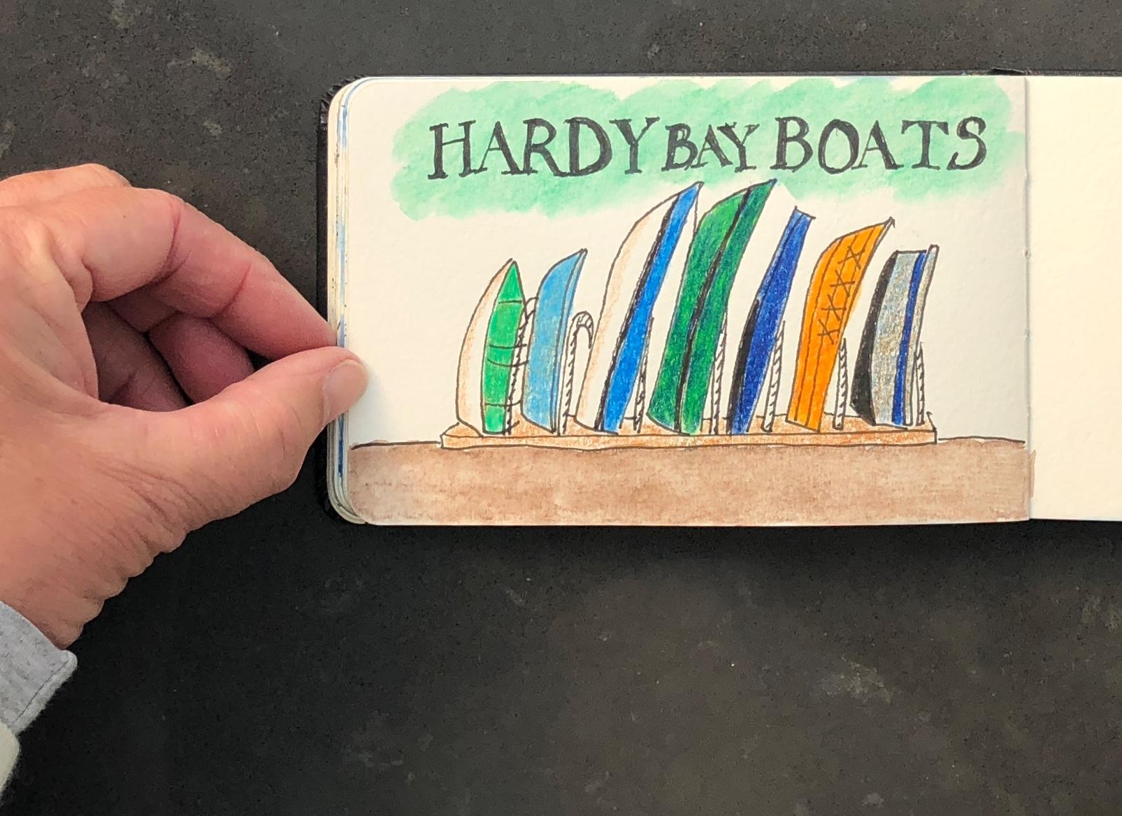 Hardy's Bay boats