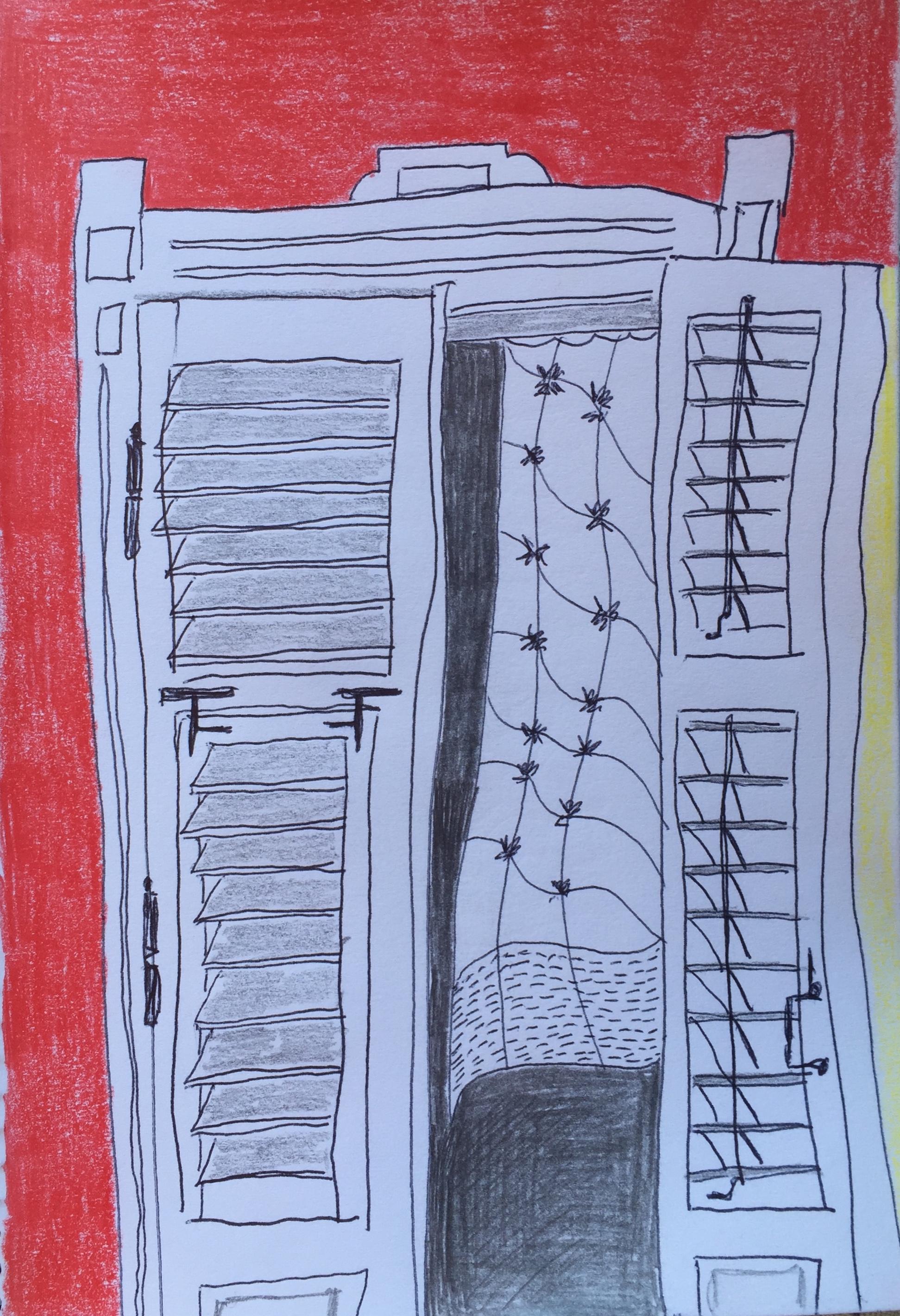 My balcony door, Tivat