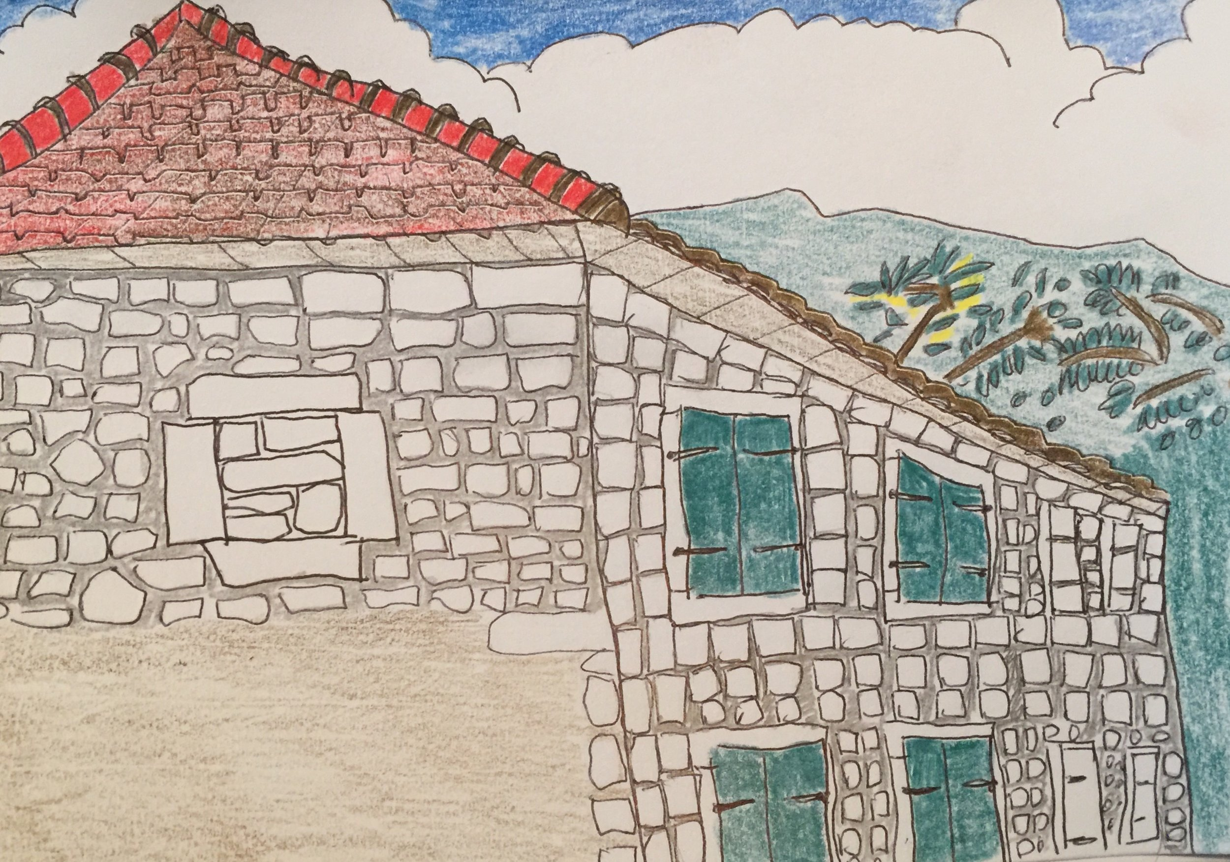 Tivat: the neighbour's house