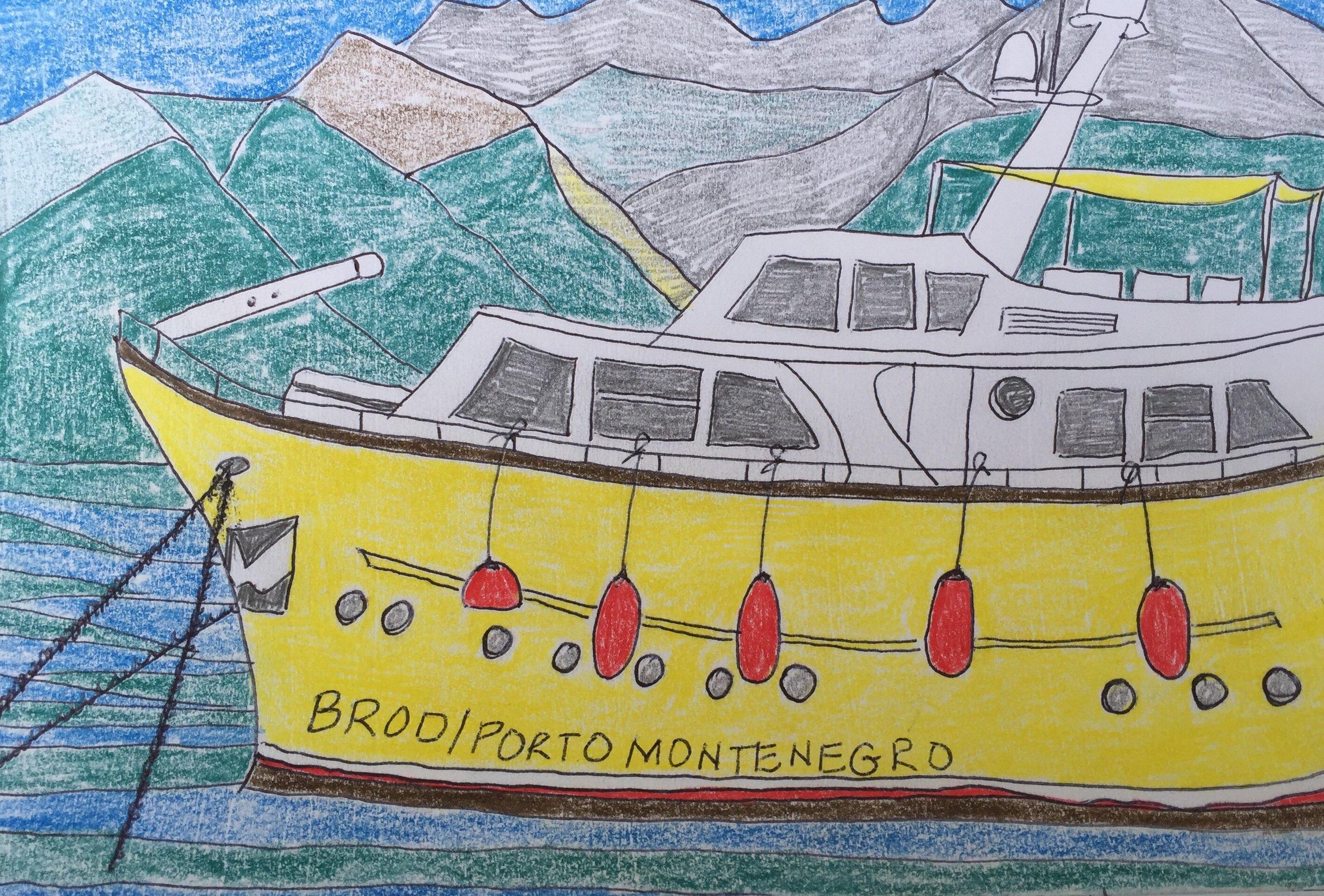 Porto Montenegro boat
