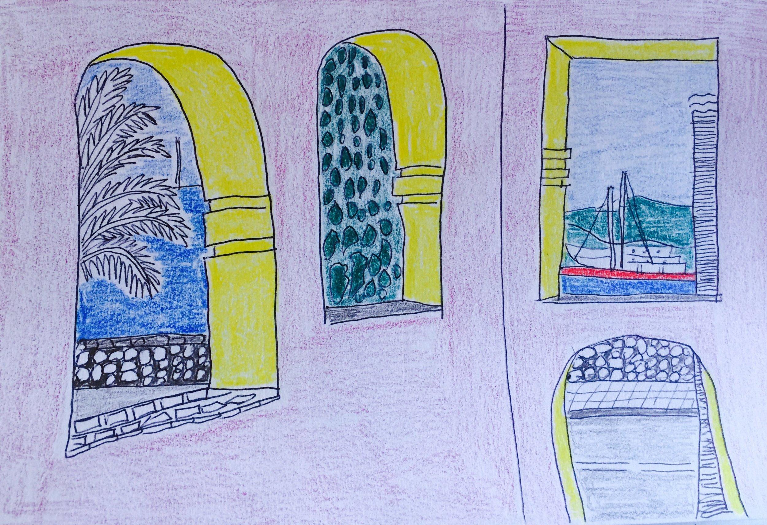 Tivat: view from my front door