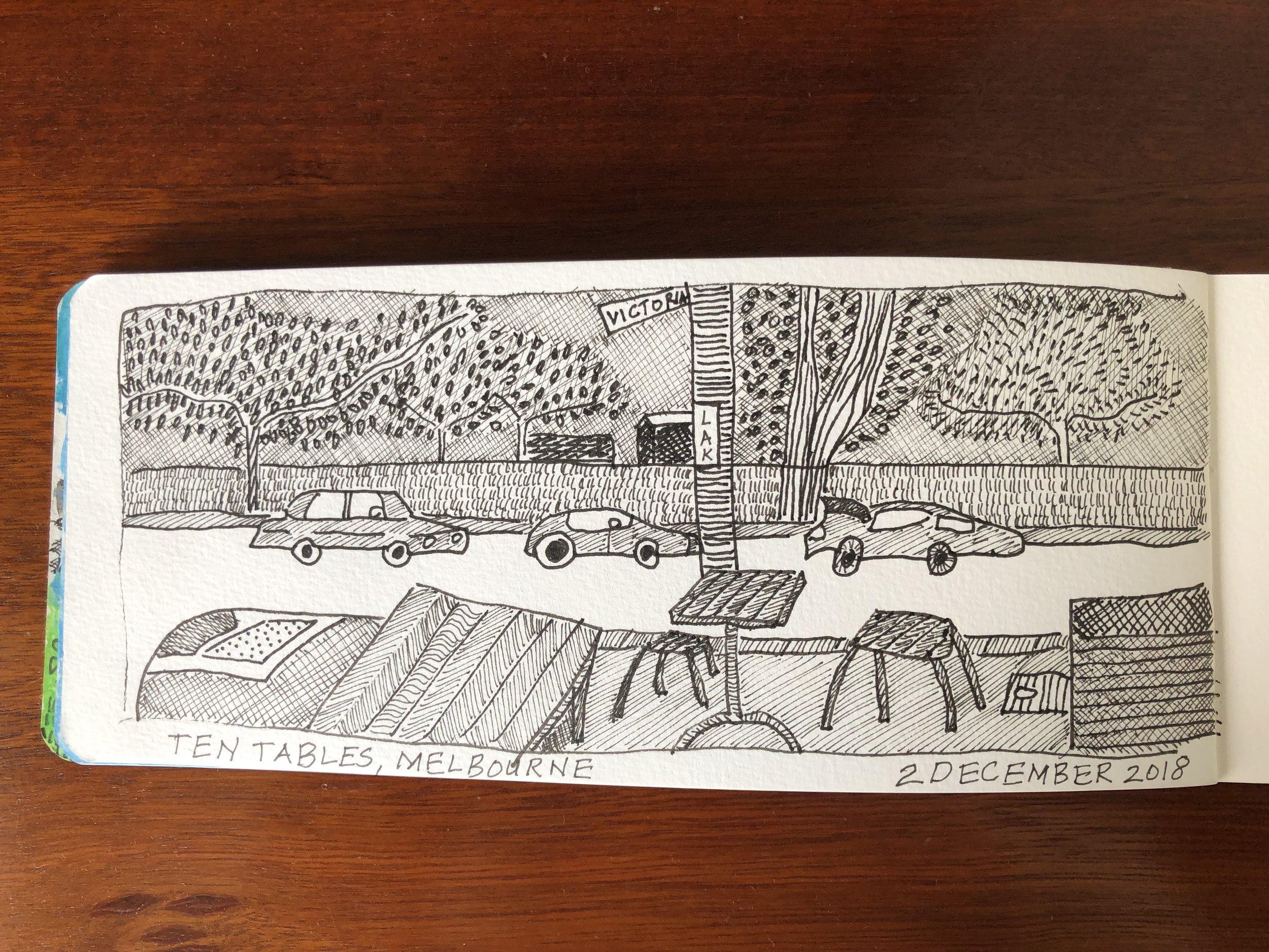 Ten Tables Cafe, Melbourne