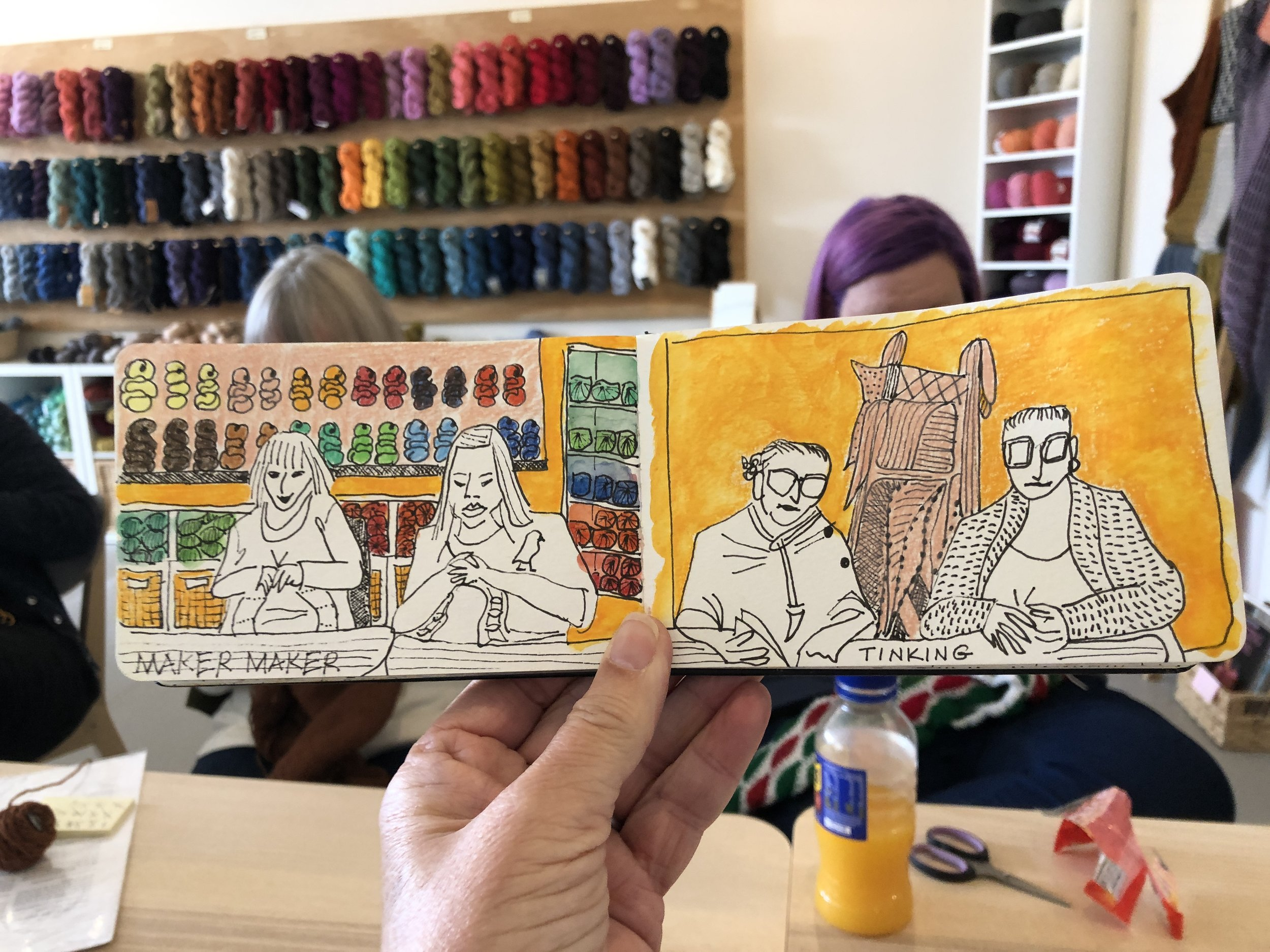 Knitters, Melbourne