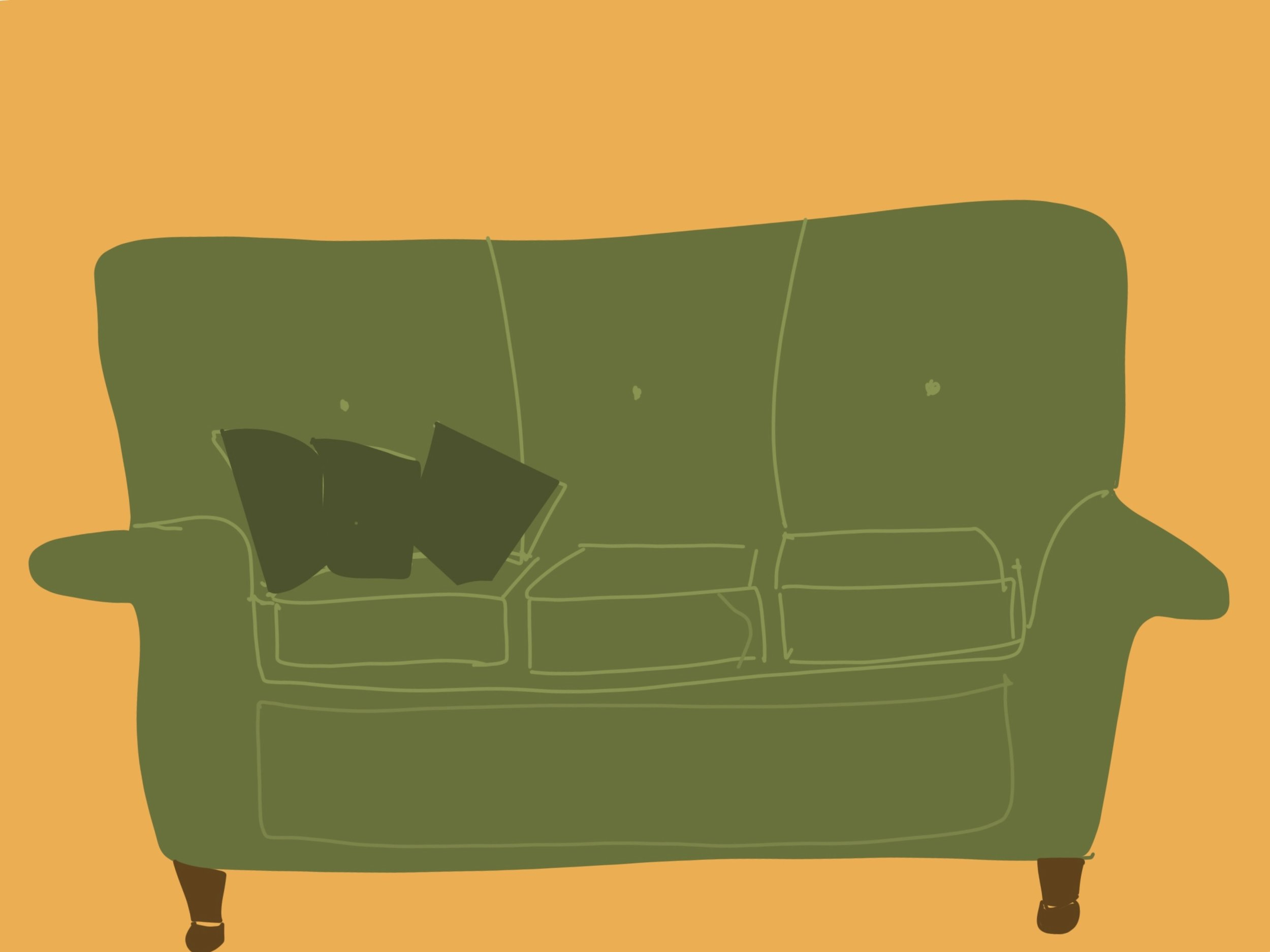 My mother's couch