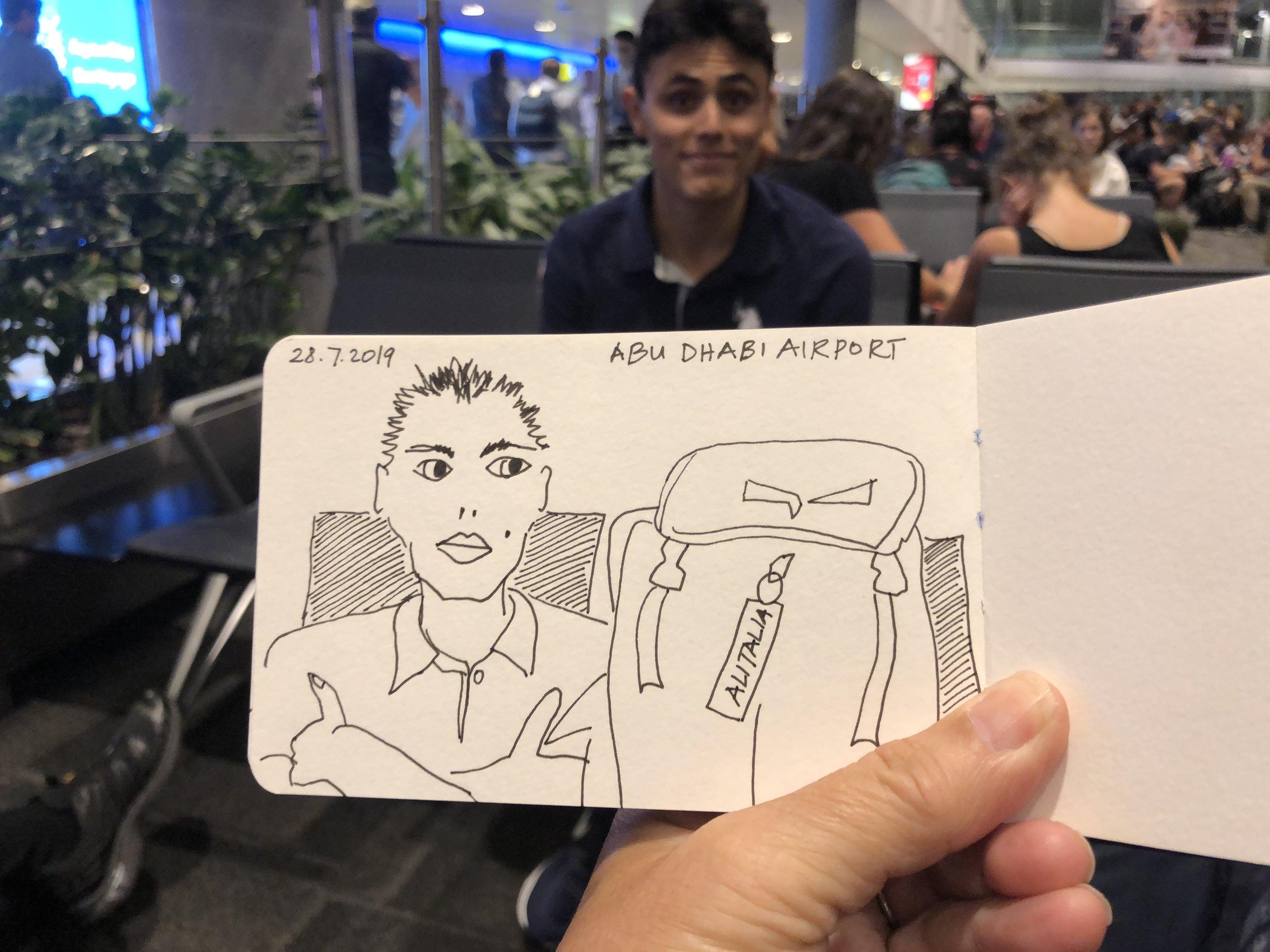 Abu Dhabi International Airport - patron