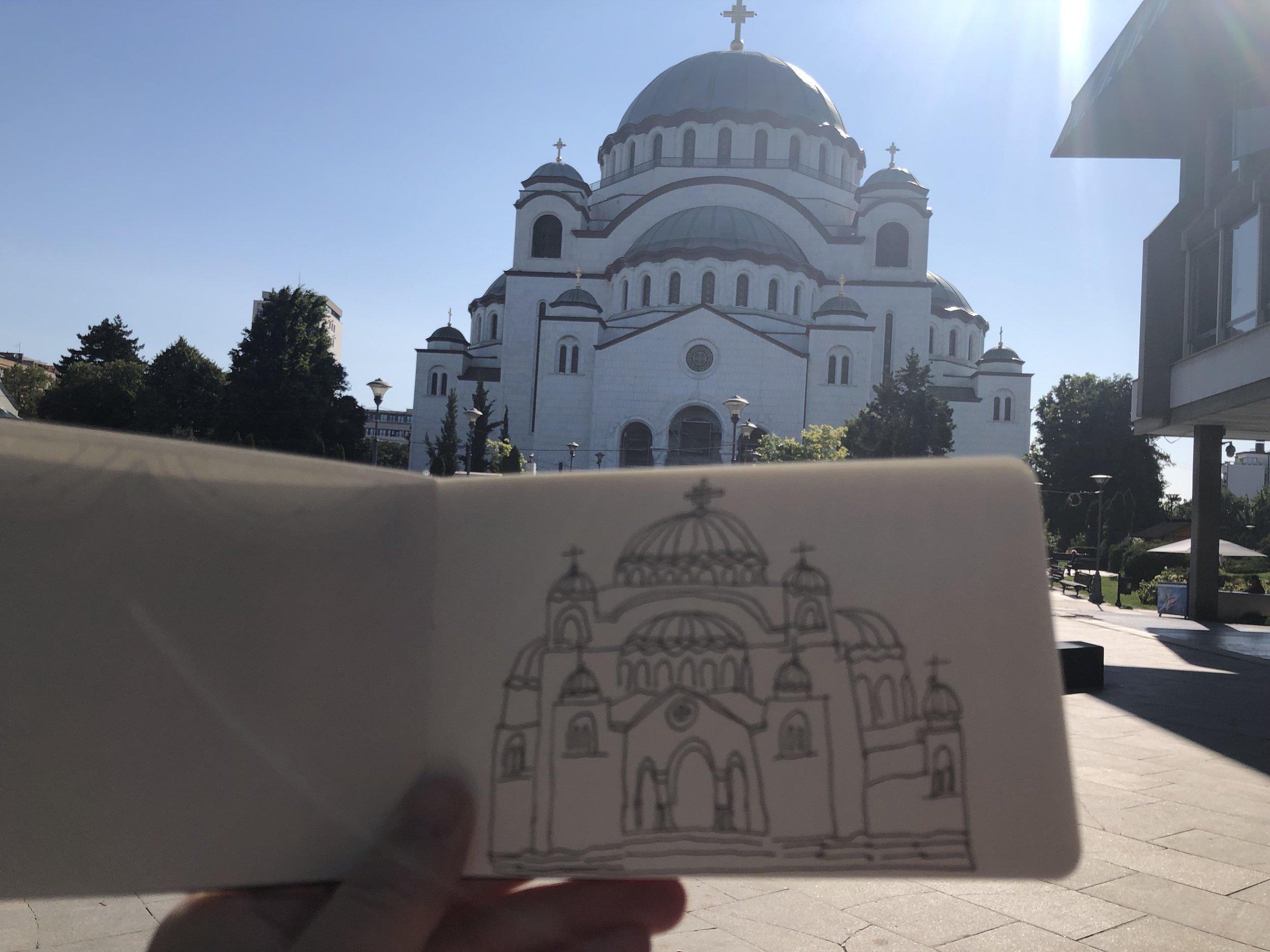 Sveti Sava, Belgrade