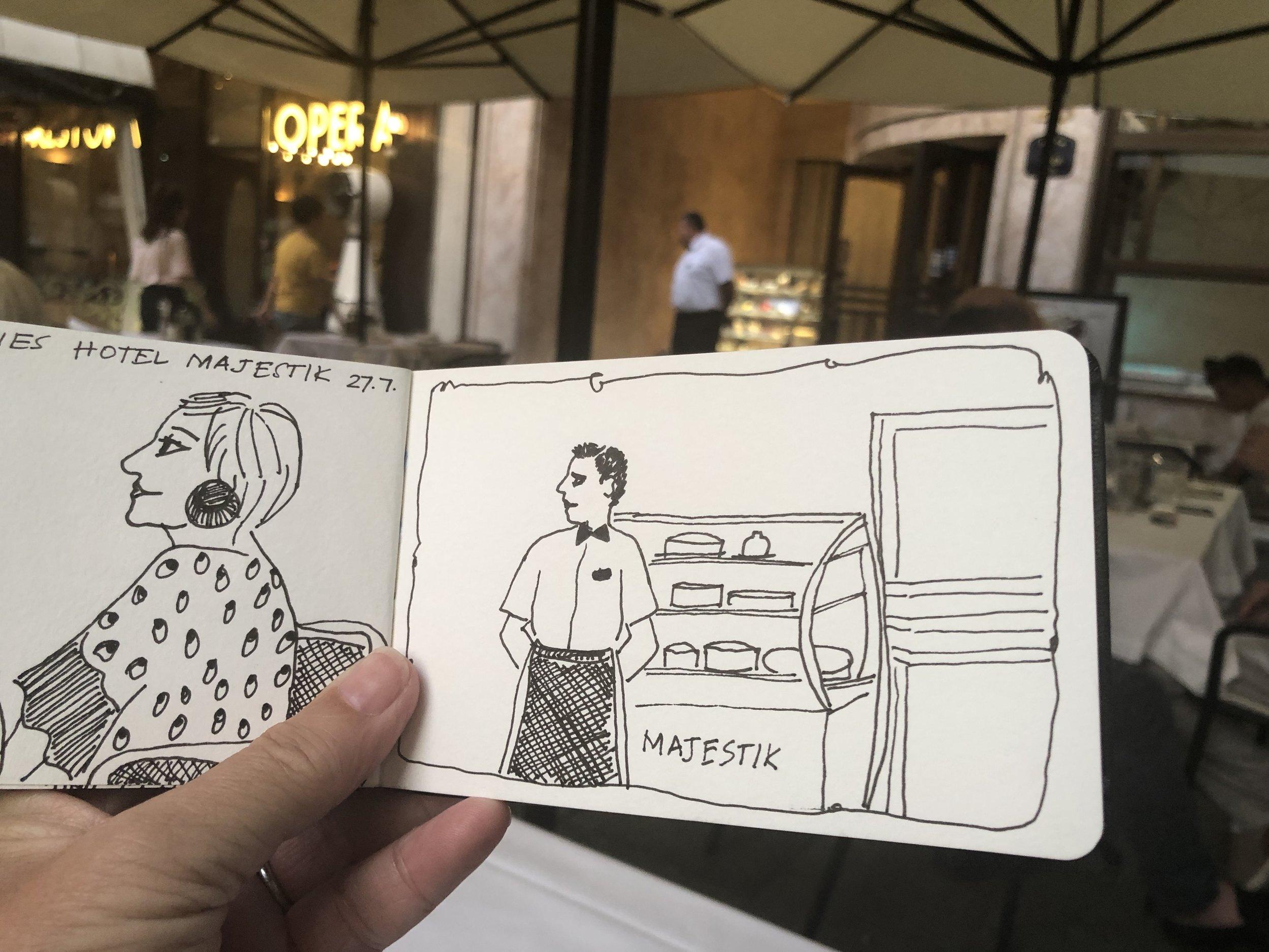 Majestik Hotel waiters