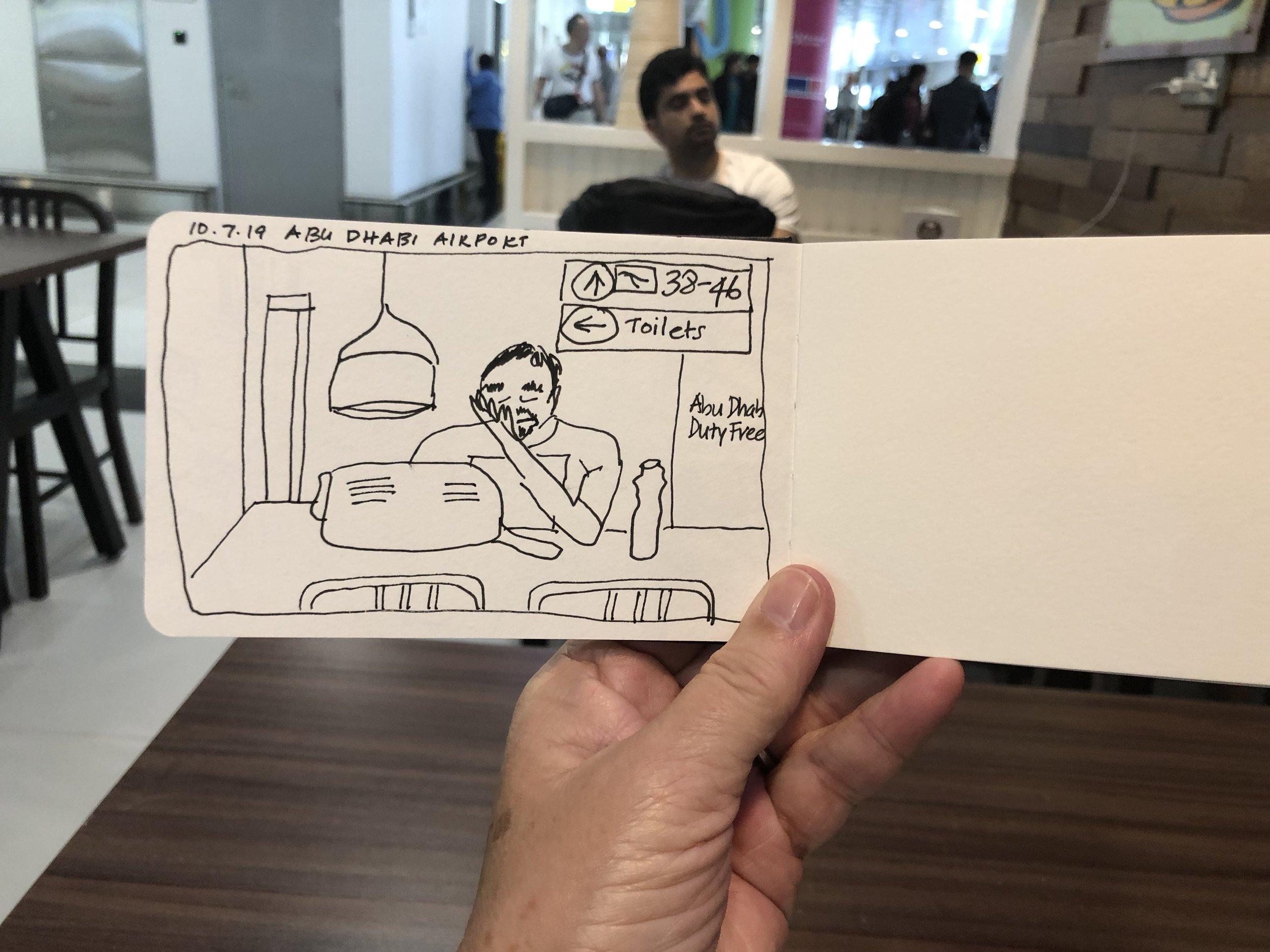 Abu Dhabi traveller