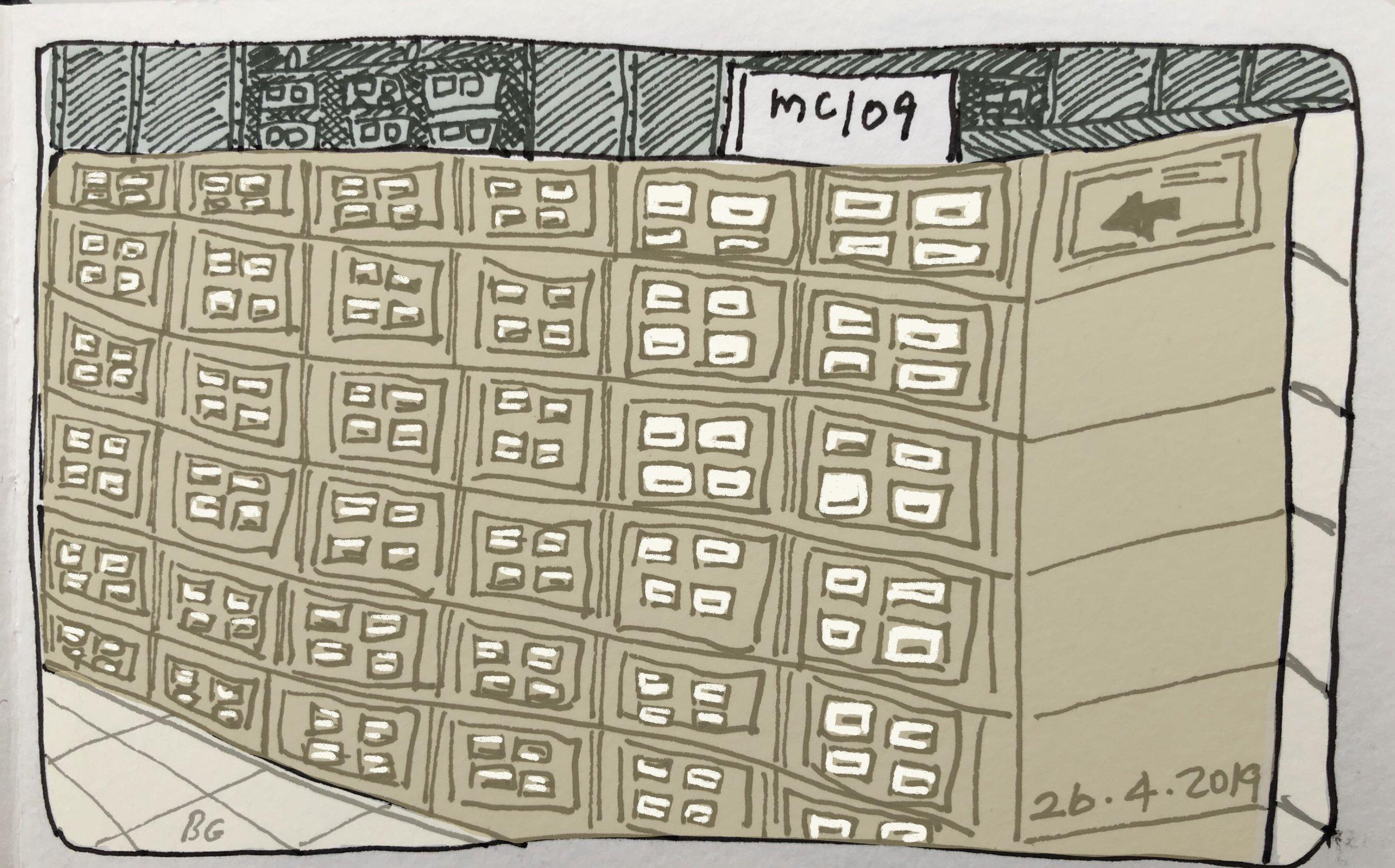 Newspaper microfilm