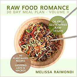 Raw Food Romance Meal Plan