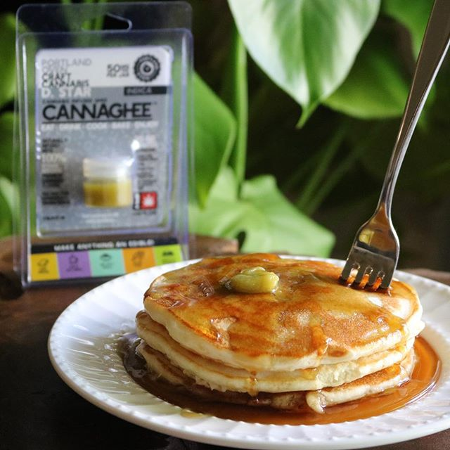 MAY THE FOURTH BE WITH YOU! Celebrate #starwarsday like a true Jedi and create your own edible masterpieces with D. Star Cannaghee™! #maythe4thbewithyou #maythefourthbewithyou #maytheforcebewithyou #starwars #deathstar #dstar #portlandoven #cannaghee #cannabis #indica #pancakes #cannaghee #jedi #sith