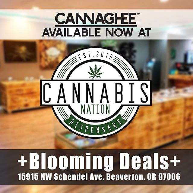 Cannaghee is now available at @cannabis.nation.inc Blooming Deals! Cannabis Nation is known for their high-quality cannabis products and superb customer satisfaction. We're very proud to be part of their selection! #cannabisnation #bloomingdeals #cannaghee #edibles #indica #sativa #cooking #cannacooking #pnw #beaverton #portland #portlandpot