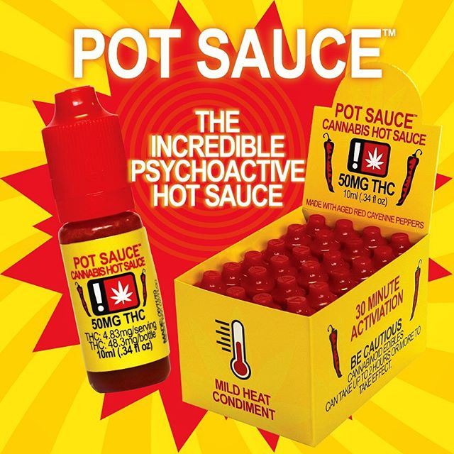 AVAILABLE NOW! This delicious mild heat hot sauce is made with THC infused aged cayenne peppers and will pack a fresh psychoactive punch to every meal! #potsauce is conveniently packed in small discreet 50mg THC squirt bottles, perfect for easy use and pairs great with grilled meats, eggs, pastas, chicken wings, tenders, french fries, or anything your heart desires! #hotsauce #mildheat #pdxfood #pdxeats #weedmaps #leafly #portlandoven #pdxdispensary #hotwings #wings #sauce #cannacooking #cannasauce #hybrid
