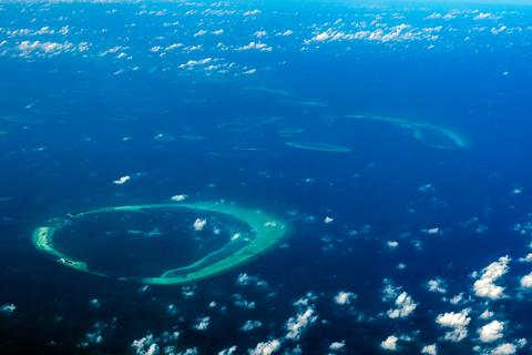 The Maldives archipelago consists of 1190 tiny islands scattered across the Indian Ocean.