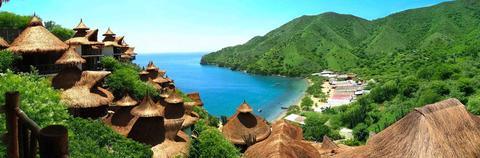 EcohabsTaganga, Playa Grande, Taganga, Santa Marta, Colombia
