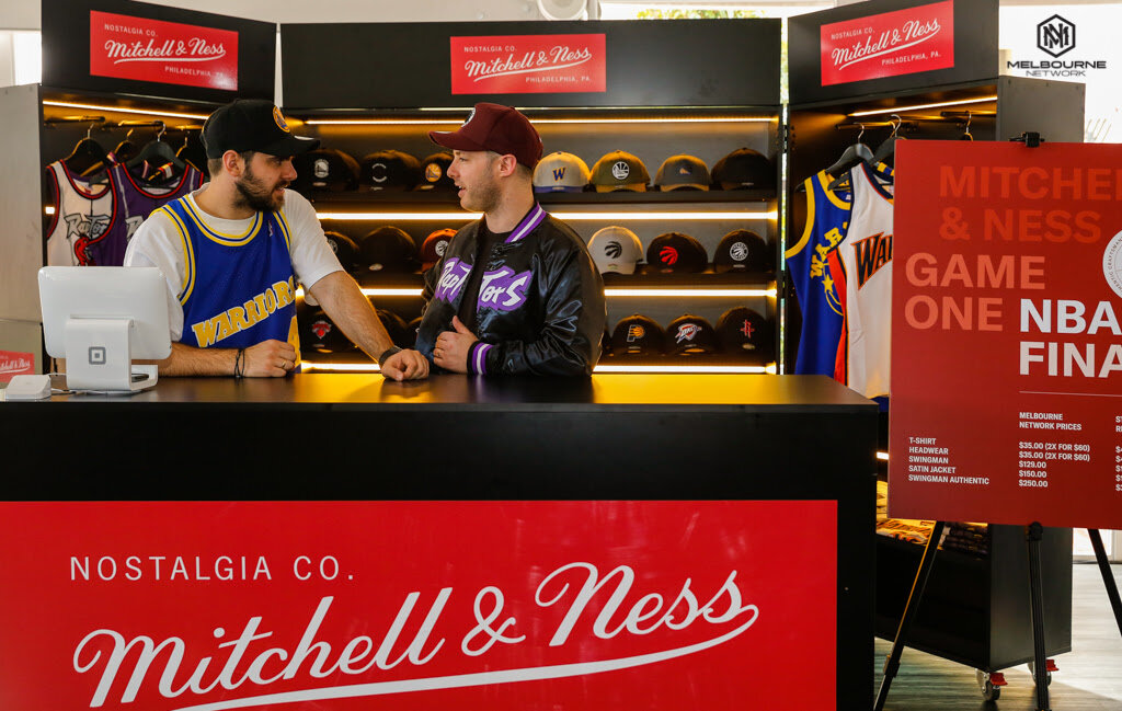 Mitchell & Ness at the NBA Melbourne Finals Party at Crown Casino