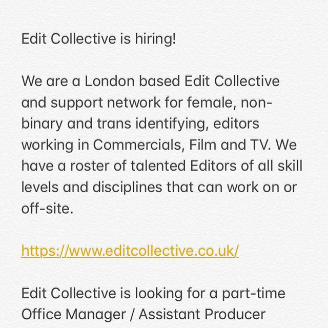 Check out full job description on our website x Please share x