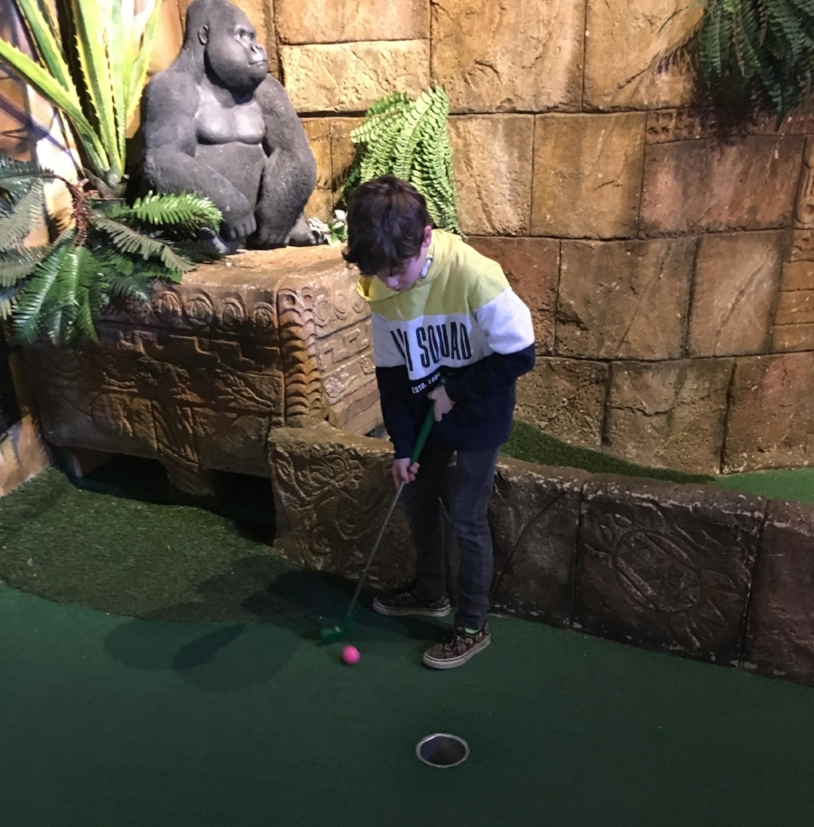"""""""Get in the hole!!!!!!"""""""