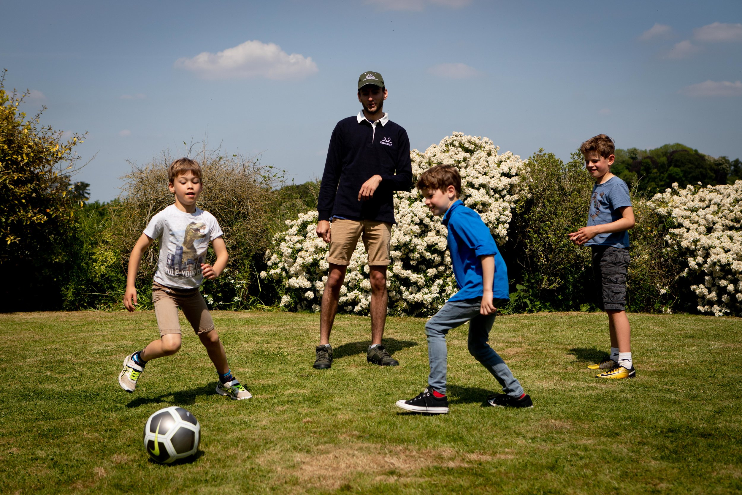 Jobs for the boys! - Kowalah is not just for girls. We love having male sitters on the platform - families with boys love having a male role model to play sport or build camps with their children.