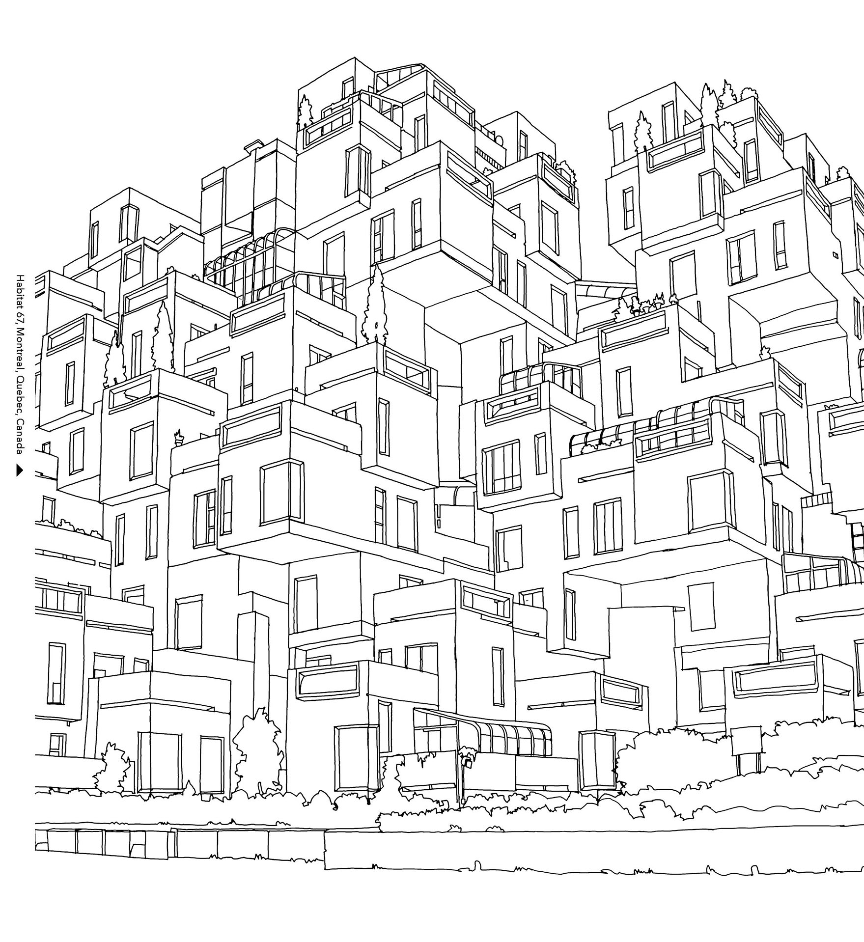 DETAILED COLOURING BOOK FOR YOUR  INNER CHILD ARCHITECT