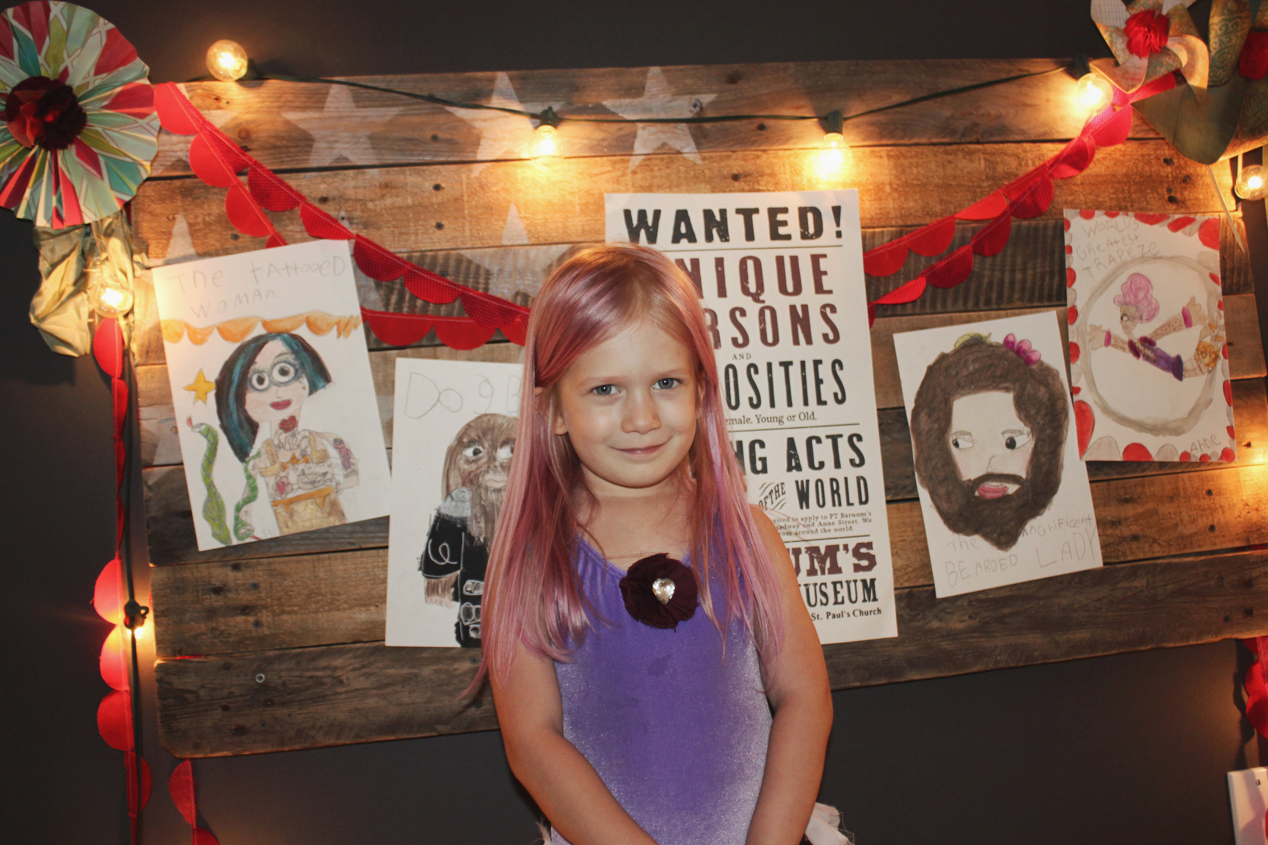 Circus Themed Fourth Birthday by Laura Macurak