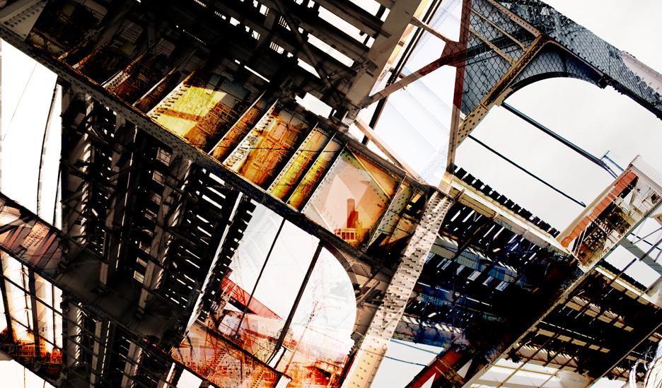 "Nick Haas ArtTerminal Graffiti 46"" x 27"""