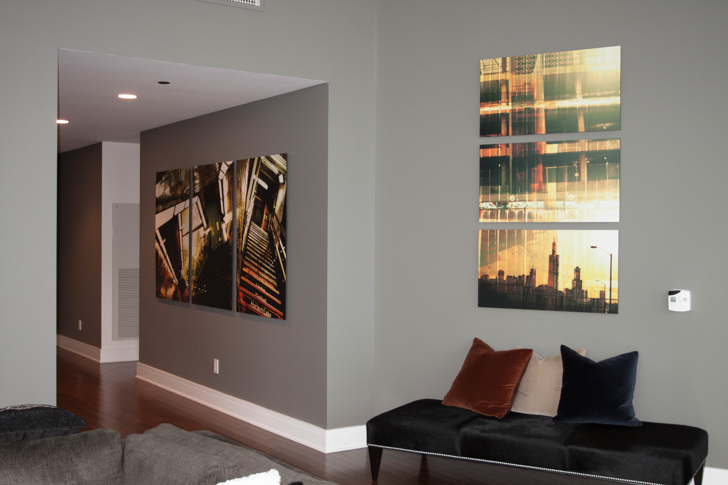Custom Living Room Artwork
