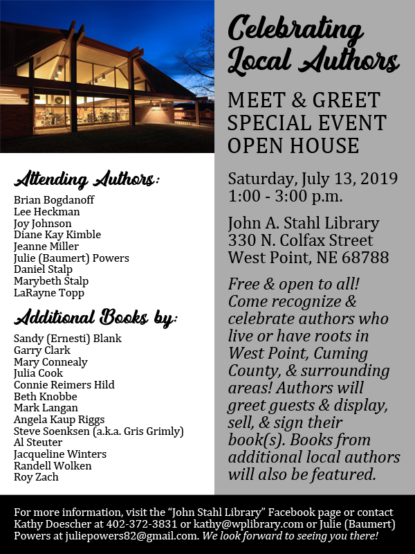 West Point Authors Open House poster.jpg