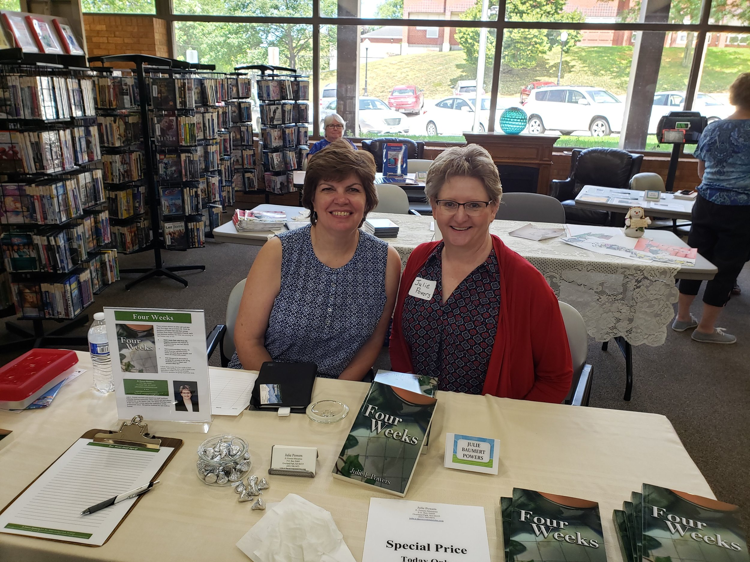 Ann Fenton and Julie Powers