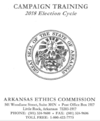 """Click """"View Campaign Training Materials"""" at the Ethics Commission website."""